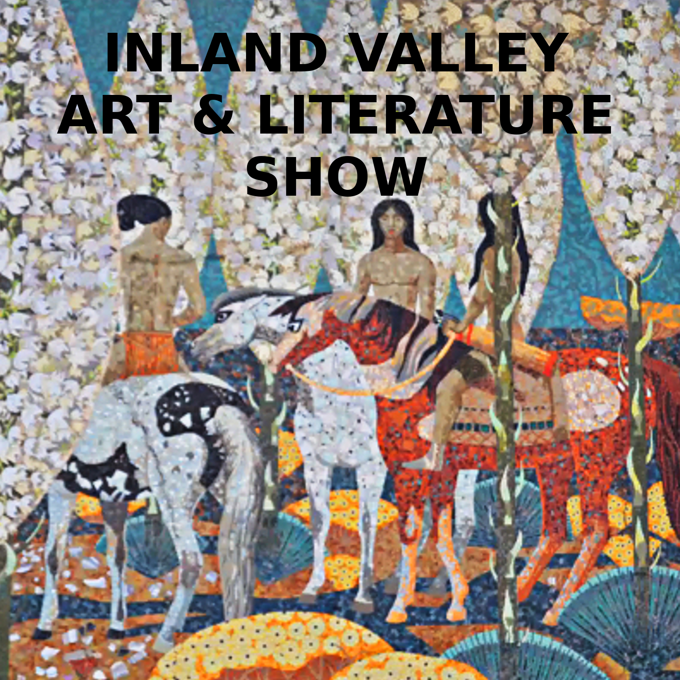 Millard Sheets mosaic, Claremont - Inland Valley Poets