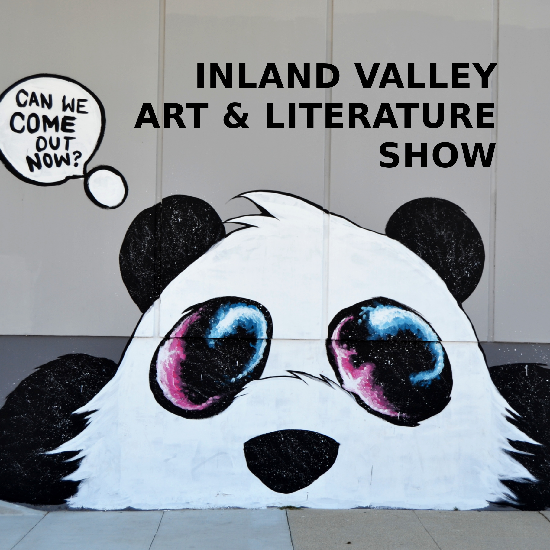 The Panda Mural in Upland - Inland Valley Poets