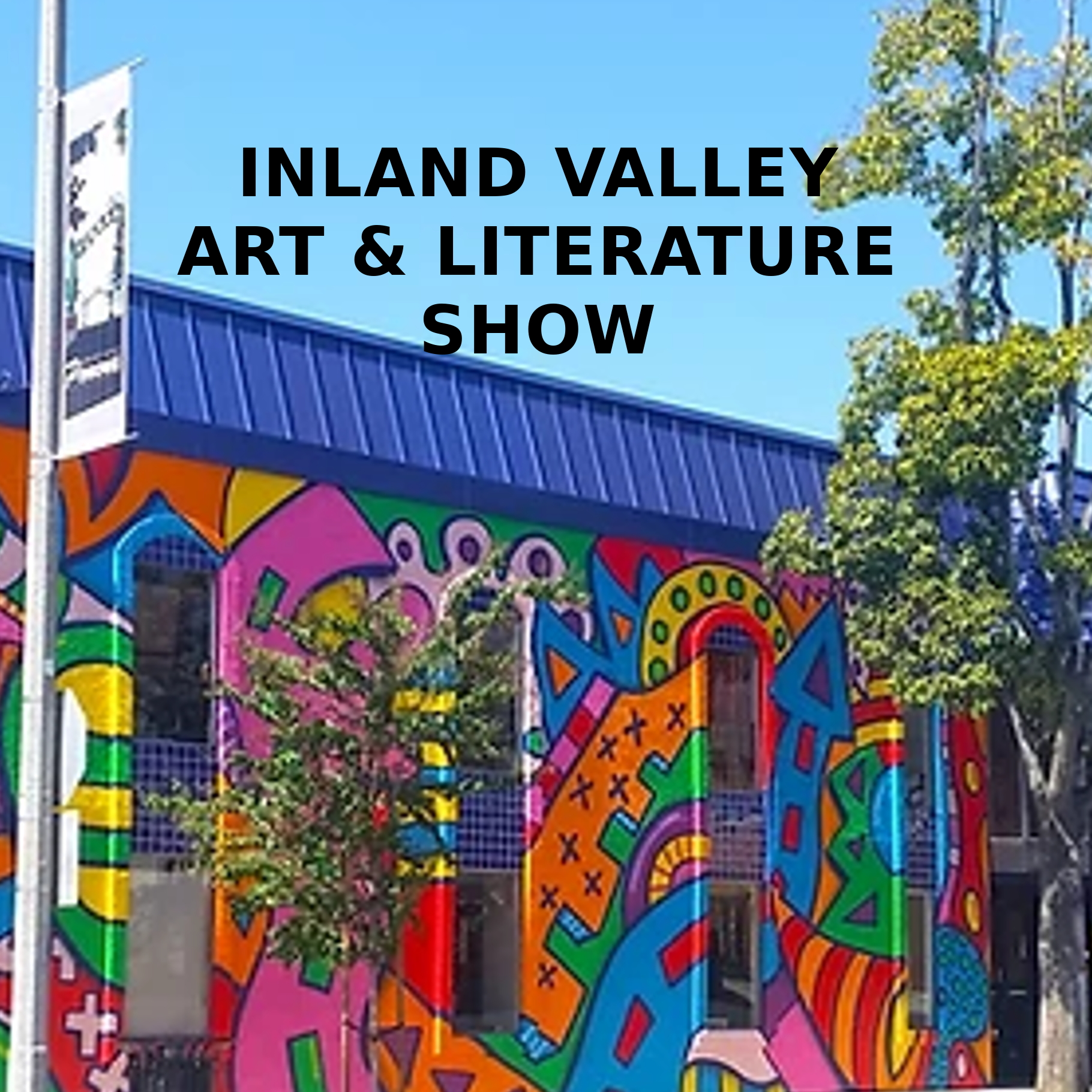 The Mural on Pomona's School of Arts and Enterprise - Inland Valley Poets